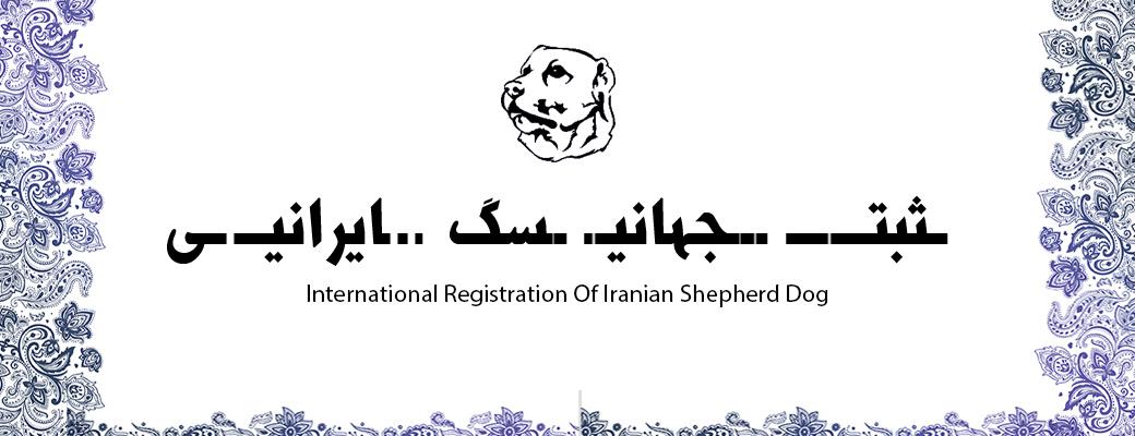 ثبت جهانی سگ ایرانی